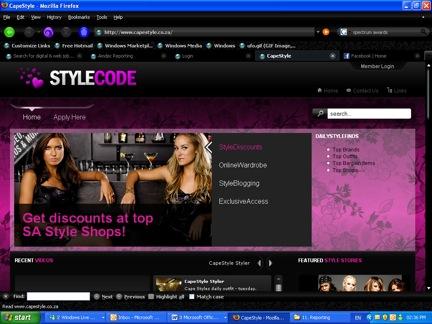 StyleCode Homepage